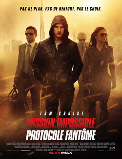 Couverture de Mission Impossible - Protocole fantôme