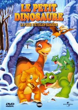 Couverture de Le Petit Dinosaure 8 : La Pluie d'étoiles glacées