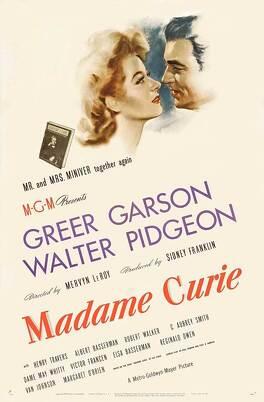 Couverture du livre : Madame Curie