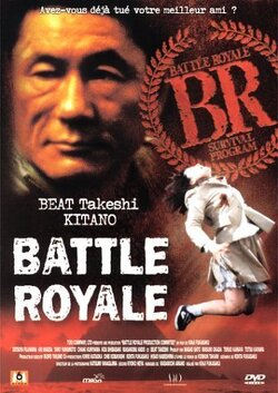Couverture de Battle Royale