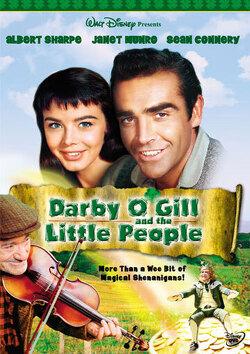 Couverture de Darby O'Gill et les Farfadets