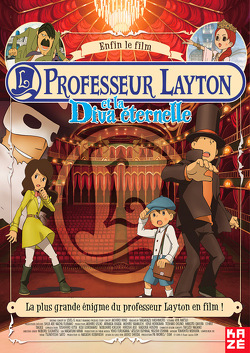 Couverture de Professeur Layton et la diva éternelle