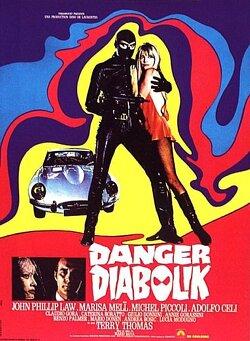 Couverture de Danger: Diabolik!