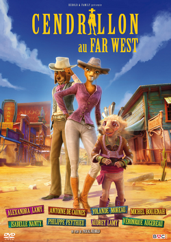 Couverture de Cendrillon au Far West