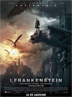 Couverture de I, Frankenstein