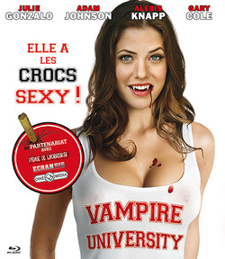 Couverture de Vampire University