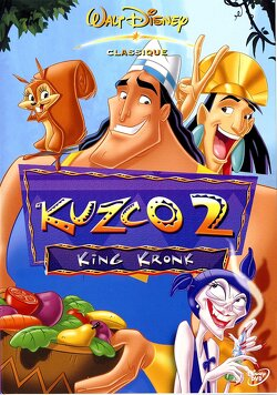 Couverture de Kuzco 2 : King Kronk