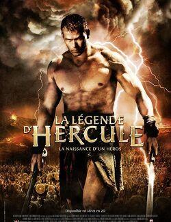 Couverture de La légende d'Hercule - La naissance d'un héros