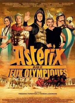 Couverture de Astérix aux Jeux Olympiques