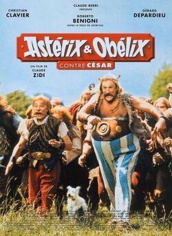Couverture de Astérix et Obélix contre César