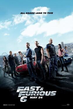 Couverture de Fast & Furious 6