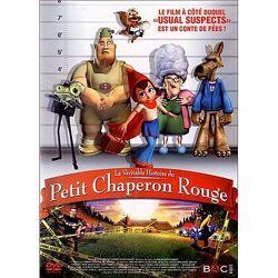 Couverture de La Véritable Histoire du Petit Chaperon rouge