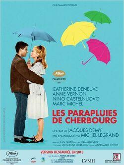 Couverture de Les parapluies de Cherbourg