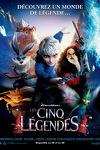 couverture Les Cinq légendes