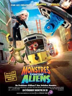 Couverture de Monstres contre Aliens