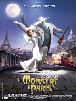 Couverture de Un monstre à Paris