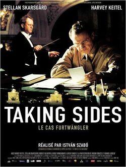 Couverture de Taking sides - Le cas Furtwängler