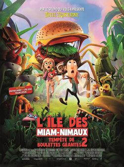 Couverture de Tempête de Boulettes Géantes 2 : L'Ile des Miam-Nimaux