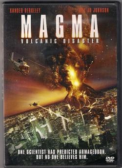 Couverture de Magma, désastre volcanique