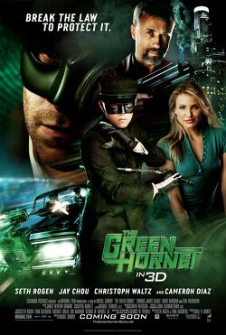 Couverture de The Green Hornet