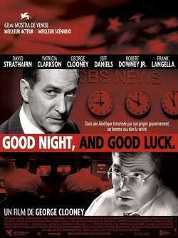 Couverture de Good night and good luck