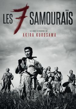 Couverture de Les sept samouraïs