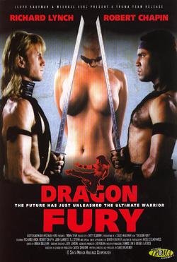 Couverture de Dragon Fury