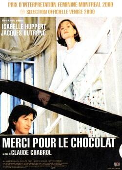 Couverture de Merci pour le chocolat