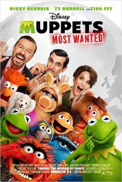 Couverture de Muppets most wanted