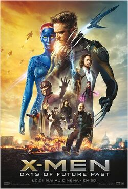 Couverture de X-Men :  Days of future past