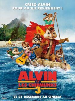 Couverture de Alvin et les Chipmunks 3