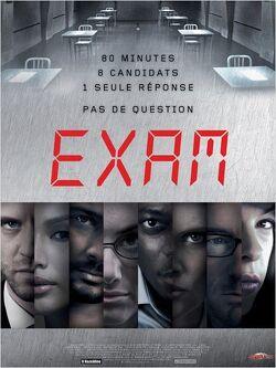 Couverture de Exam