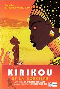 Couverture de Kirikou et la sorcière
