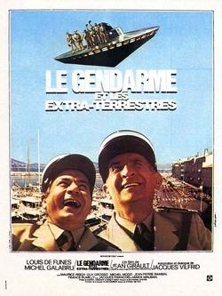 Couverture de Le Gendarme et les Extra-terrestres
