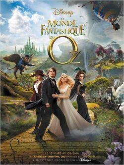 Couverture de Le monde fantastique d'Oz