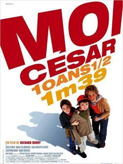 Couverture de Moi César, 10 ans 1/2, 1m39