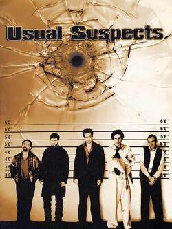 Couverture de Usual Suspects