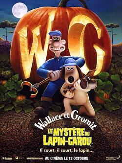 Couverture de Wallace et Gromit : Le Mystère du lapin-garou