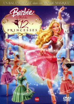 Couverture de Barbie au bal des douze princesses