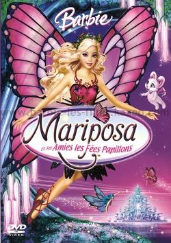Couverture de Barbie Mariposa et ses amies les Fées Papillons