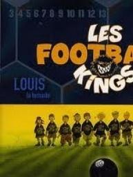 Couverture de Les football kings