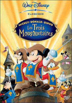 Couverture de Mickey, Donald, Dingo : Les Trois Mousquetaires