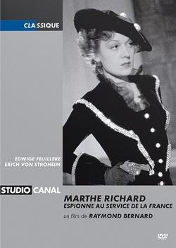 Couverture de Marthe Richard, au service de la France
