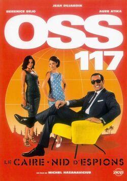 Couverture de OSS 117, Le Caire nid d'espions