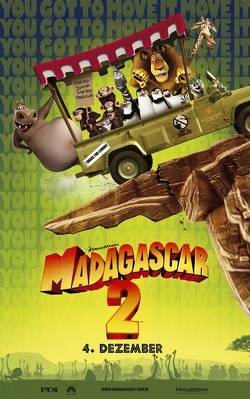 Couverture de Madagascar 2 : La Grande Evasion