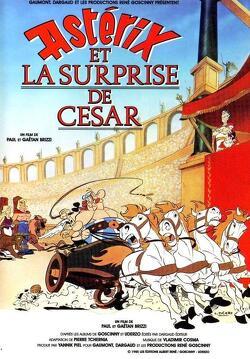 Couverture de Astérix et la Surprise de César