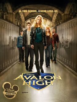 Couverture de Avalon High