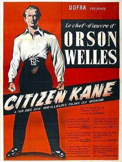 Couverture de Citizen Kane