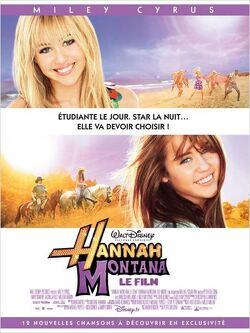 Couverture de Hannah Montana, le film