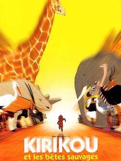 Couverture de Kirikou et les bêtes sauvages